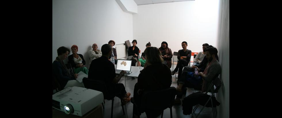 蓋斯沃克藝術家工作室講座
