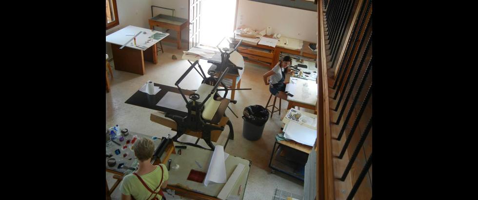 The Skopelos Foundation for the Arts's Studio