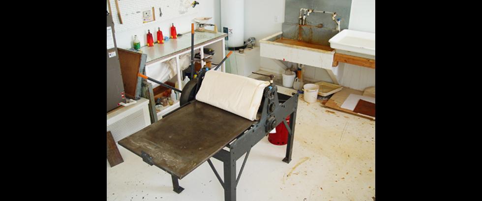 Roswell Artist-in-Residence Program's Studio