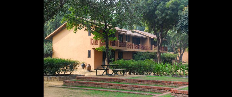 Sanskriti Foundation's Building Exterior