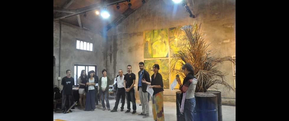 Kio-A-Thau Sugar Refinery Artist Village's Lecture