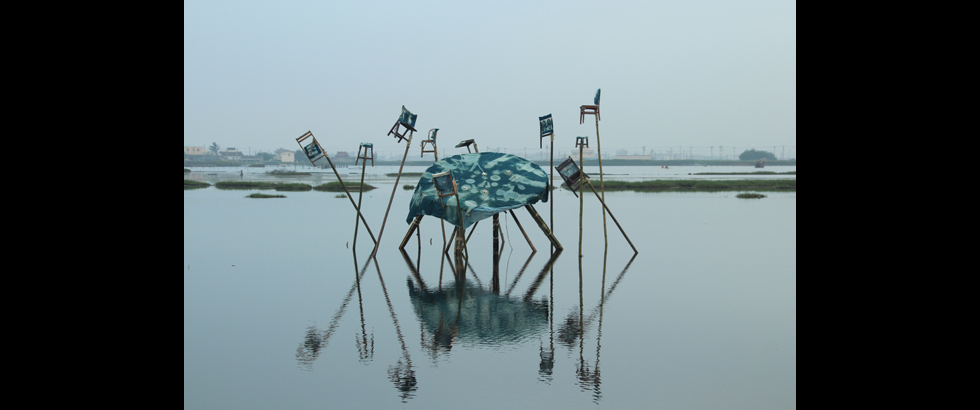 成龍溼地國際環境藝術計畫展覽現場