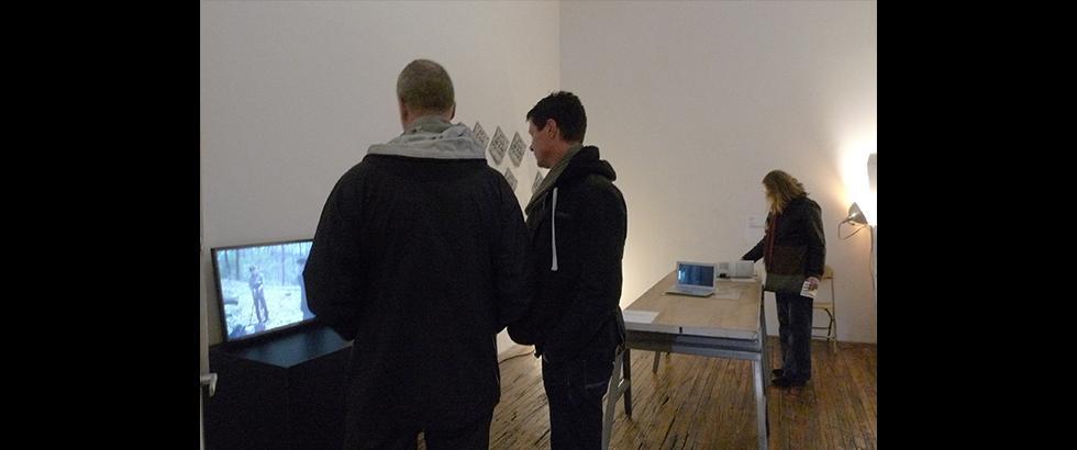 WANG Chun-Chi's Exhibition Visitors Photo