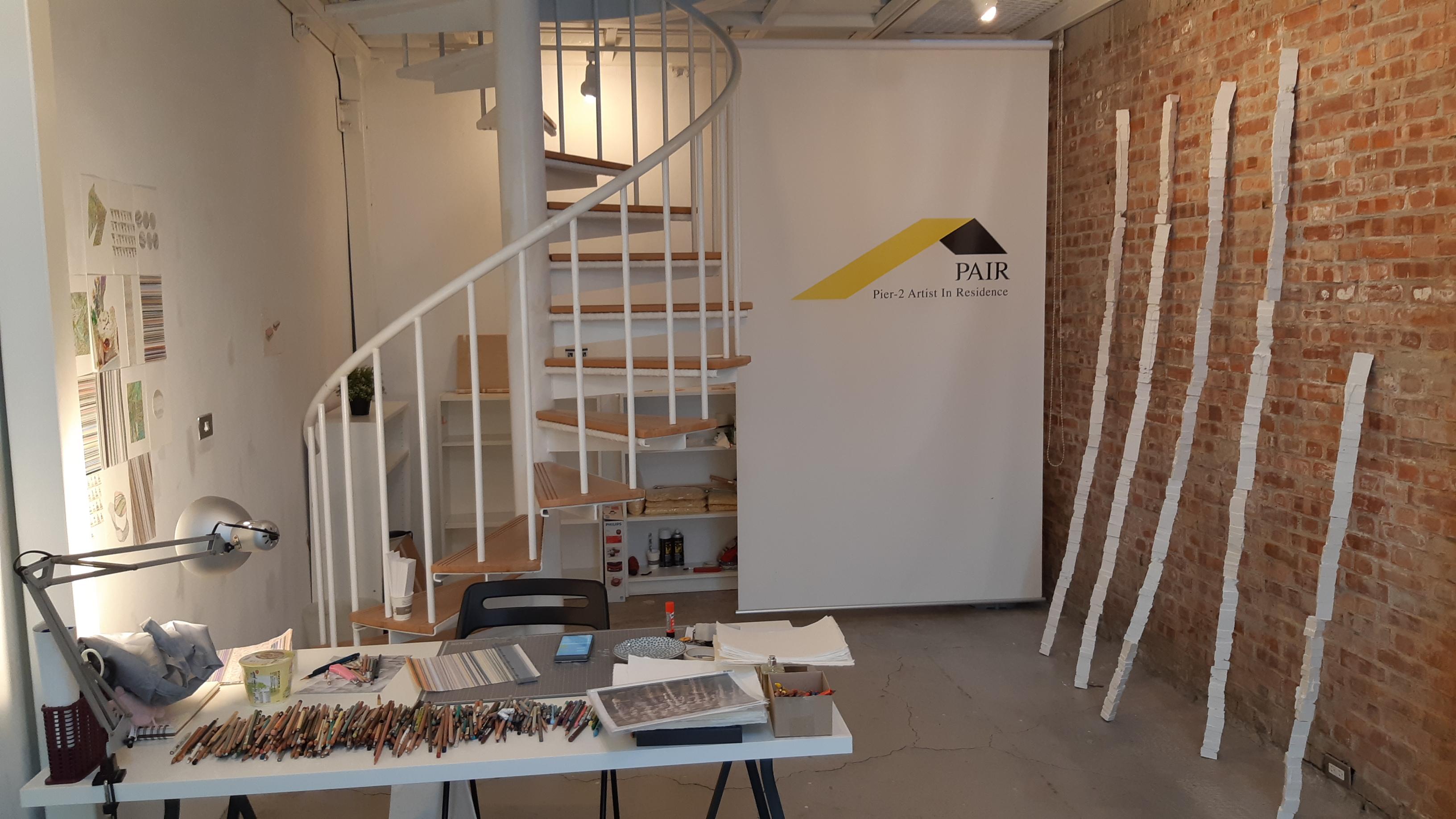 Pier-2 Art Center's Studio