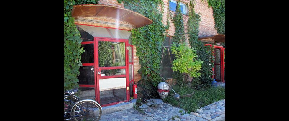 Red Gate Residency's Entrance