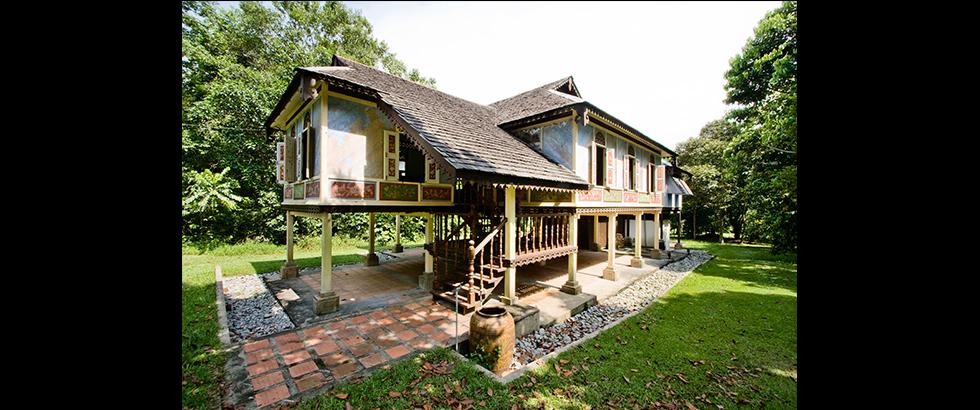 蔥綠之家建築