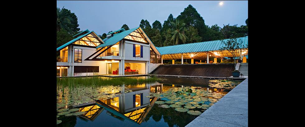 蔥綠之家建築外觀
