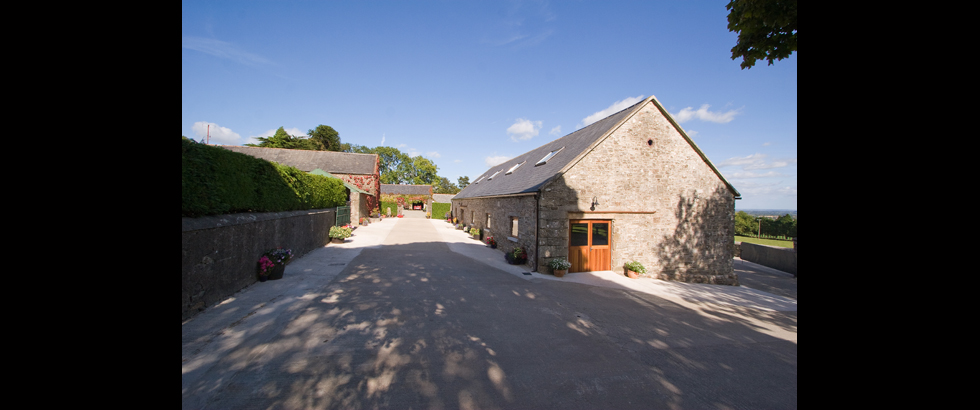 Cow House Studios's Entrance