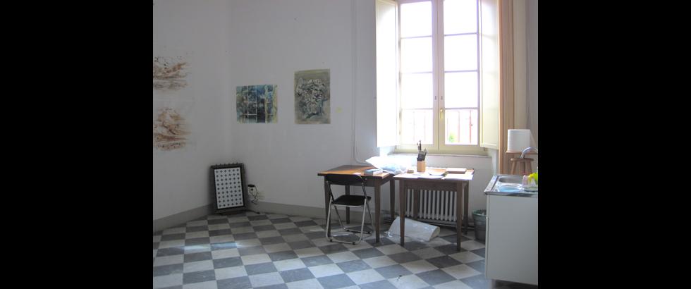 Siena Art Institute's Studio