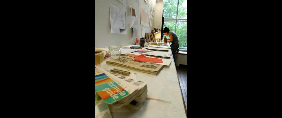 Women's Studio Workshop's Studio