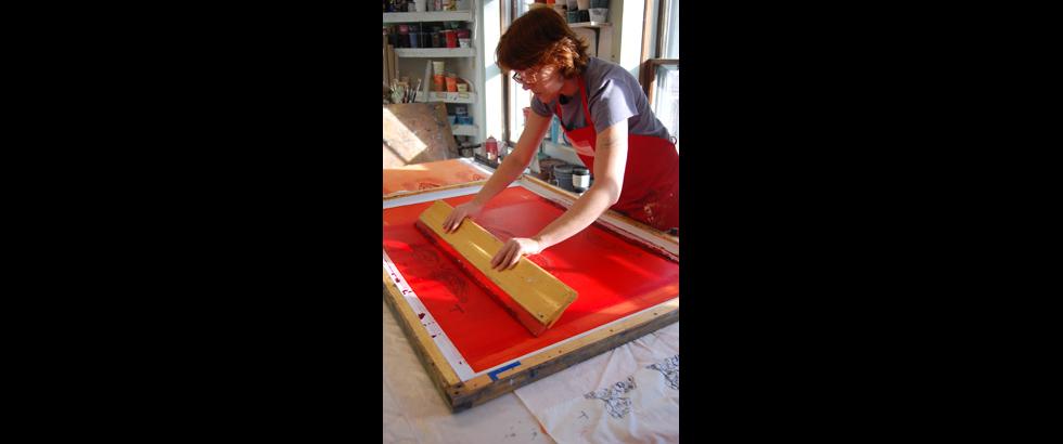 Women's Studio Workshop's Artist