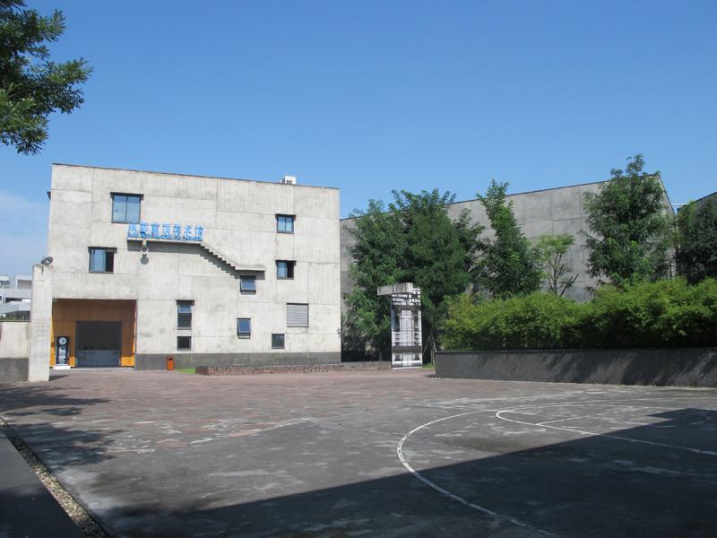 成都藍頂美術館廣場