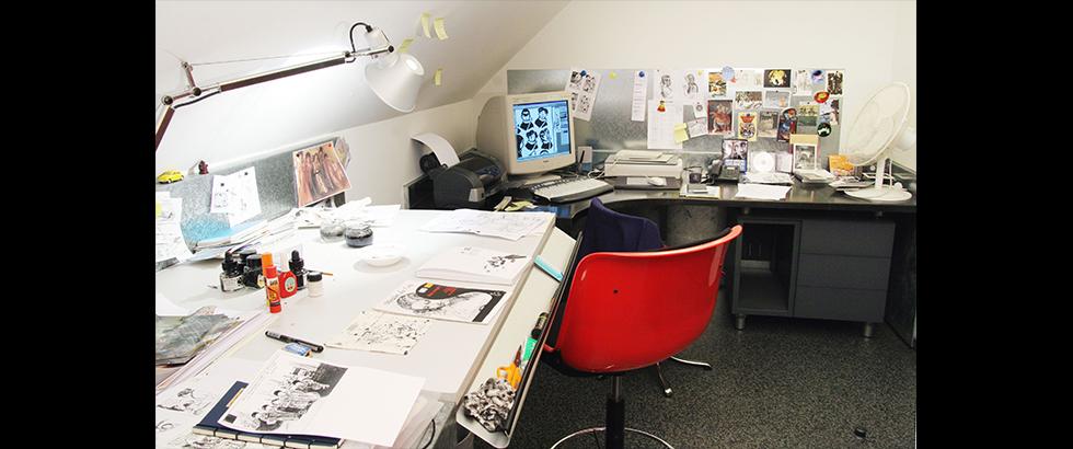 La Maison des auteurs - Cité Internationale de la bande dessinée et de l'image's Art Work