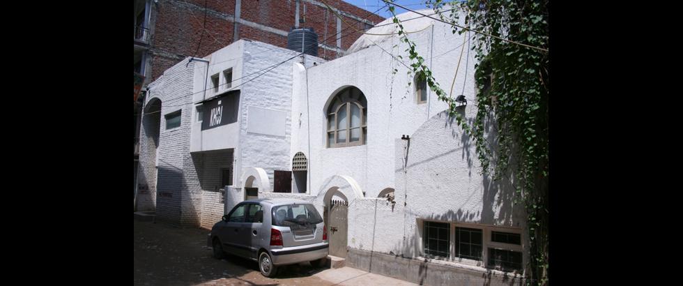 KHOJ International Artists' Association's Building