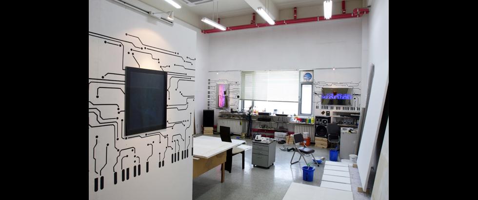 韓國國立藝術工作室工作室