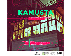KAMUSTA: An Introduction to 98B COLLABoratory and The Melting Pot Project at July 03 16:00
