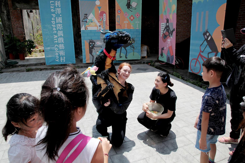 利澤國際偶戲藝術村講座