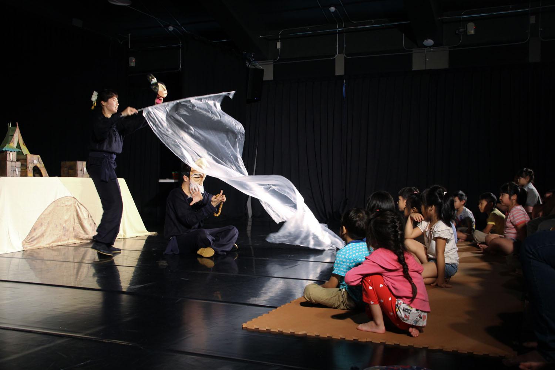 利澤國際偶戲藝術村表演照片