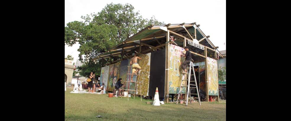 Kio-A-Thau Sugar Refinery Artist Village's Exhibiting