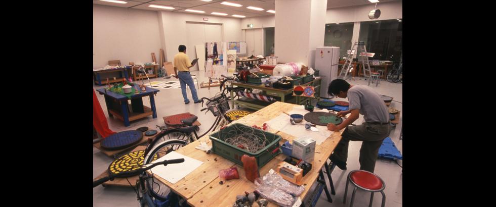 福岡亞洲美術館工作室