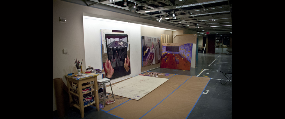 Lower Manhattan Cultural Council Workspace Artist Residency's Exhibition