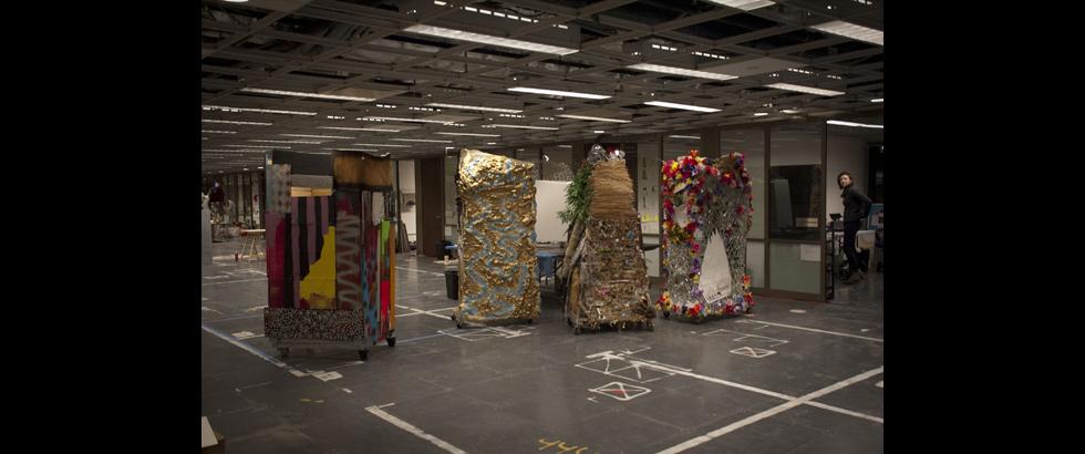 曼哈頓下城文化局「工作空間」駐村計畫展覽作品