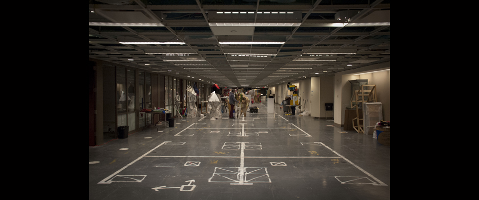 Lower Manhattan Cultural Council Workspace Artist Residency's Exhibition Space