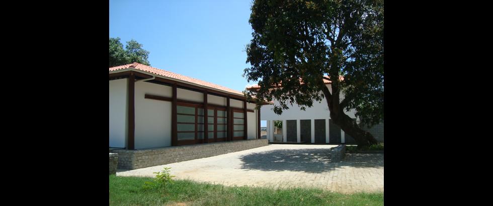 莎科達藝術村建築