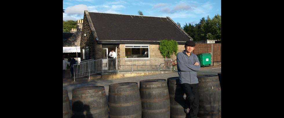 The Glenfiddich Distillery's Artist