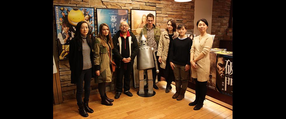 日本圖像協會「動畫進駐」藝術家