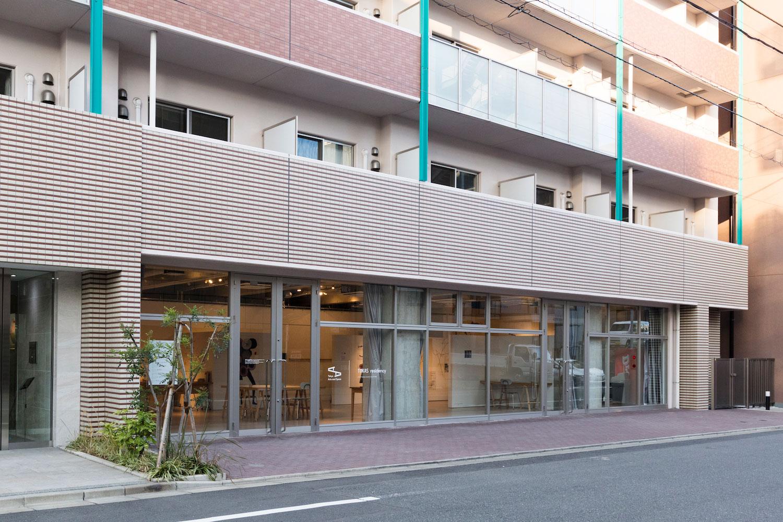 東京藝術空間入口