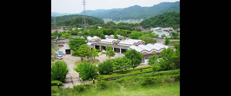 The Shigaraki Ceramic Cultural Park's Aerial Photography