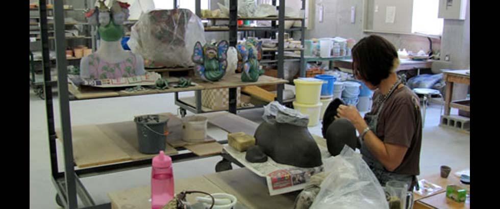 The Shigaraki Ceramic Cultural Park's Studio