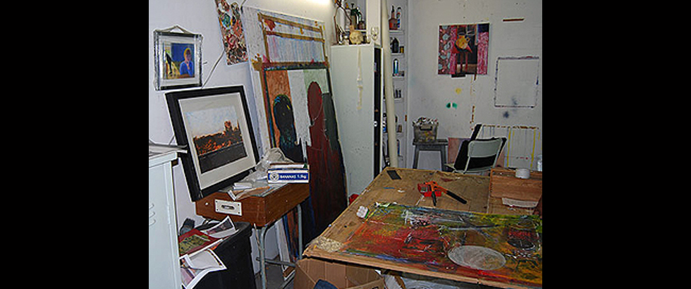 Bag Factory Artists' Studios's Studio
