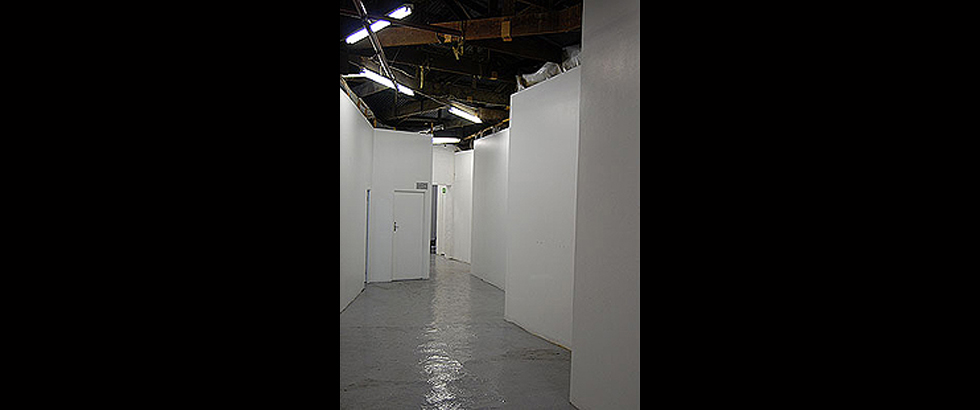 Bag Factory Artists' Studios's Corridor
