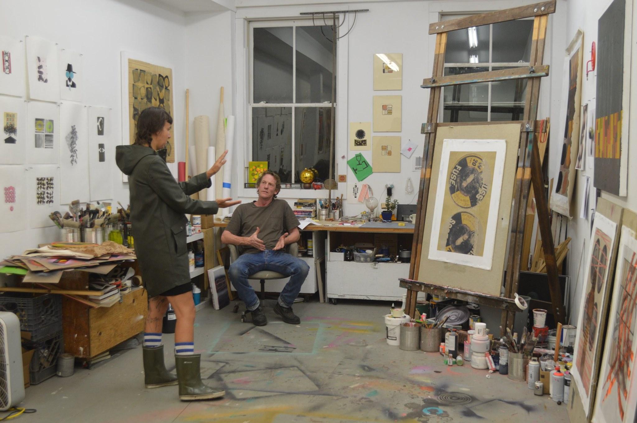 參觀畫家工作室